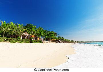 Mui Ne White Sandy Beach, Vietnam Asia