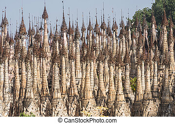 Pagodas at Kakku - Kakku pagodas are nearly 2500 beautiful...