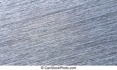 Macro view of a brushed metal surface