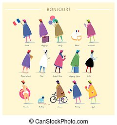 French fashion poster