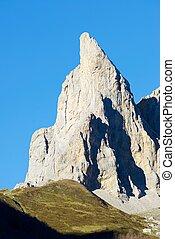 Pyrenees - Petite Aiguille Ansabere Peak in Lescun Cirque...