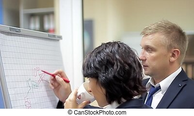 Team of Office Workers have Discussion