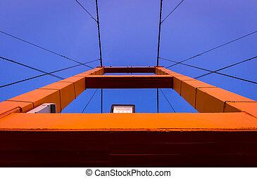 ponte, construção,  closeup,  taksin, história