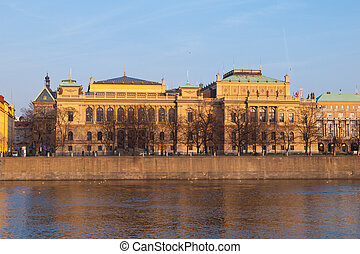 The Rudolfinum in Prague - The Rudolfinum - neo-renaissance...