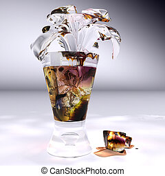 iced tea, this illustration may be useful as designer work