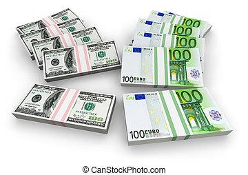 Dollars or Euro