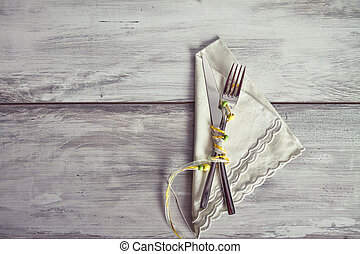 cutlery for holiday dinner
