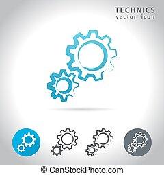 technics icon set