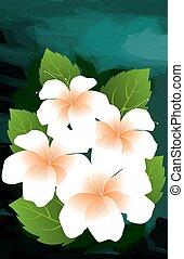 Digital painting of flowers.