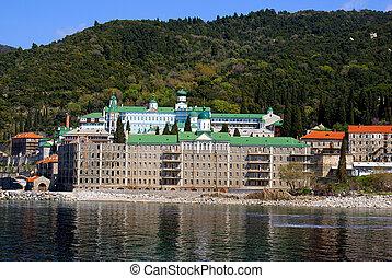 Monastery Panteleimo on Mount Athos - Monastery...