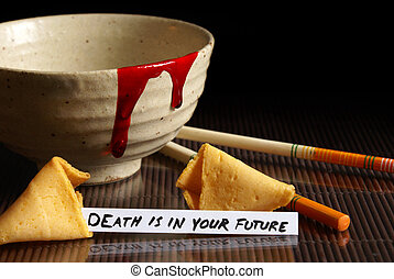Grim Future - A grim fate reveals itself in this fortune...