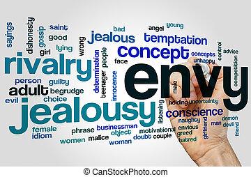 Envy word cloud