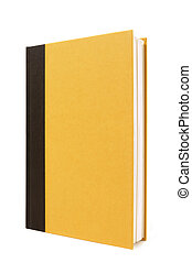 Black and yellow hardback book