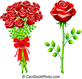 dozen of roses - Original Vector Illustration: dozen of...