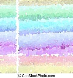水彩画, 定型, 背景
