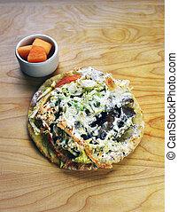 Gyros Pita Greek Sandwich