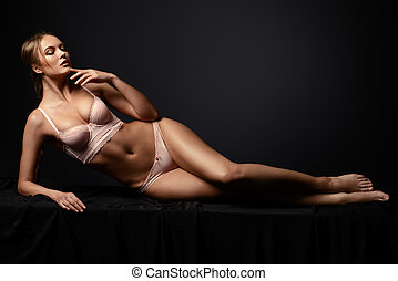 perfect slender woman