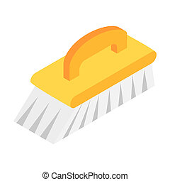 Fetlock isometric 3d icon isolated on a white background