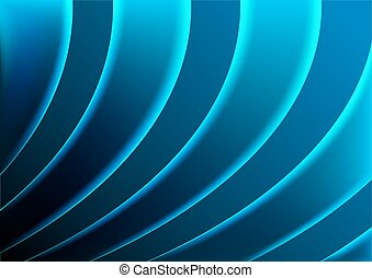 Illuminated Striped Background