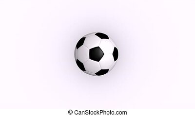 Football - This is to show the bouncing football