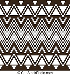 Stylish elegant modern black and white seamless pattern -...