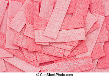 Pink Bubble Gum Background that can be used to provide your...
