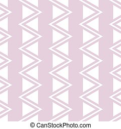 Elegant seamless pattern of vertical zigzag and triangles...
