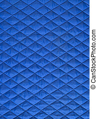padded fabric - texture - blue padded fabric, texture with...