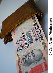 indian curency - money background