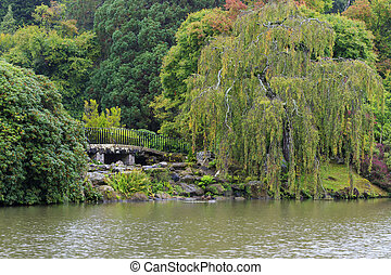 Botanical garden - A beautiful Botanical garden in the UK