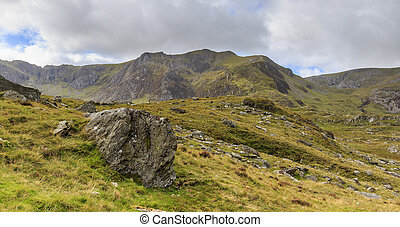 Snowdonia national park - The beautiful landscape of...