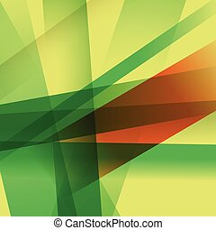 Abstract background with colorful overlapping layers