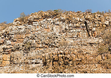 Vulture Gorge Botswana Africa - Vulture Gorge in rural...