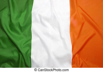 Flag of Ireland - National flag of Irland for a background