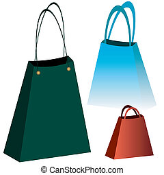 Shopping bags (vector)