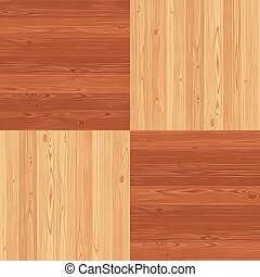 Chess Square Parquet Seamless Floor Pattern
