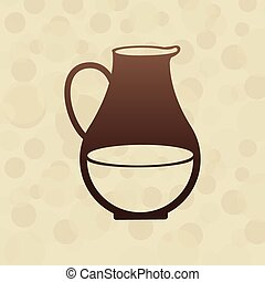 dairy products design, vector illustration eps10 graphic