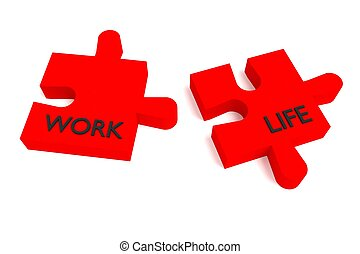 Red Puzzle, work and life