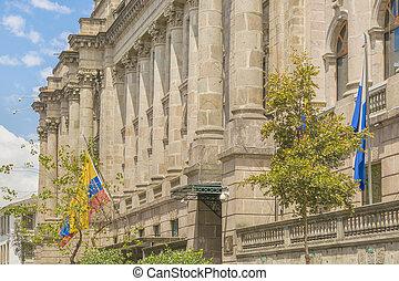 Elegant Palace at Historic Center of Quito Ecuador