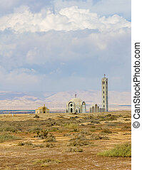 Churches at the Baptism Site, Jordan. - Baptism Site is the...