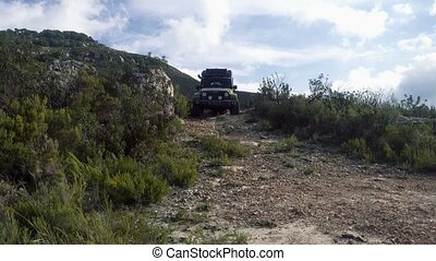 Offroad Andalusia, Spain - Offroad with a Jeep Wrangler,...
