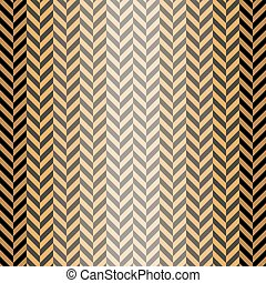 Abstract seamless herringbone pattern in black, gray, orange...