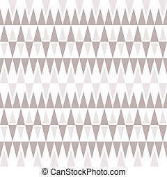 Stylish elegant seamless pattern of triangles in gentle...
