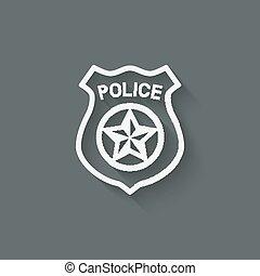 Police badge Stock Illustrations. 5,084 Police badge clip ...