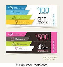 vouchers - Gift voucher design template.