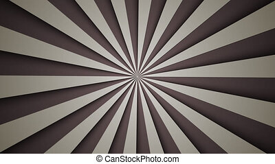 background of gray rotating beams - animated background of...