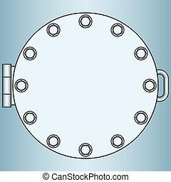 Manhole - Illustration of the manhole icon