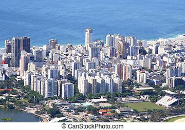 Rio de Janeiro - The city of Rio de Janeiro View from the...