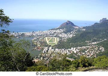 Rio de Janeiro - The city of Rio de Janeiro. View from the...