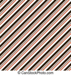 Abstract seamless striped pattern in black, white, red...